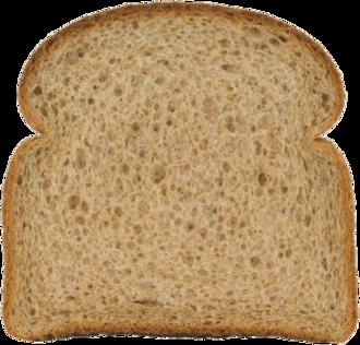 Stone Ground 100% Whole Wheat Bread Slice
