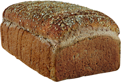 100% Whole Wheat Naked Bread Loaf