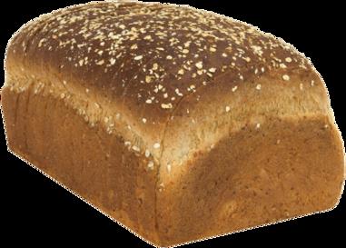 Oat Bran Naked Bread Loaf Image