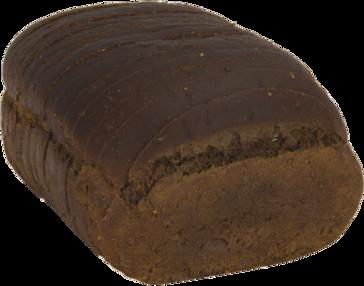 Pumpernickel Jewish Rye Naked Bread Loaf Image