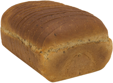 Seeded Jewish Rye Naked Bread Loaf Image