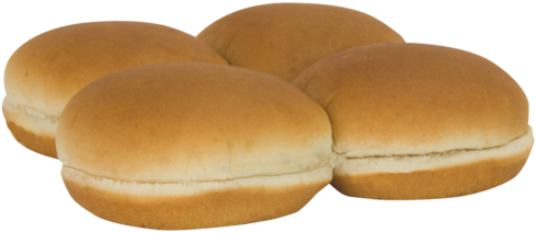 Country White Sandwich Buns Top of Buns