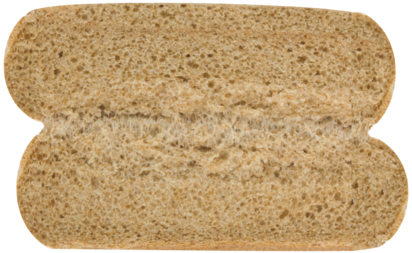 100% Whole Wheat Hot Dog Buns Inside of Buns