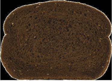 Pumpernickel Jewish Rye Bread Slice Image