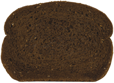 Pumpernickel Jewish Rye Bread Slice Image