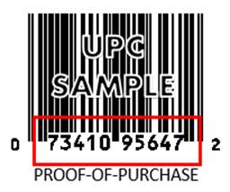 UPC Sample