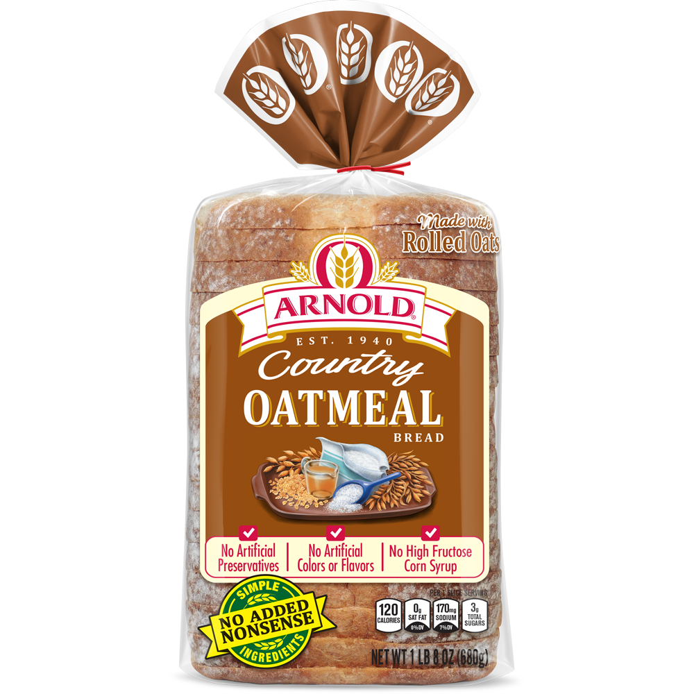 Arnold Oatmeal Bread Package Image