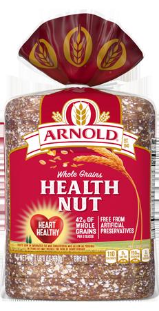 Arnold Health Nut Bread 24oz Packaging