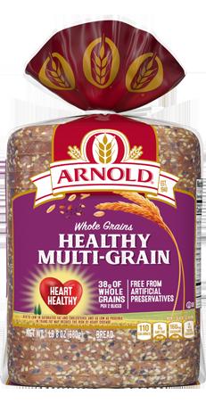 Arnold Healthy Multi-Grain Bread 24oz Packaging