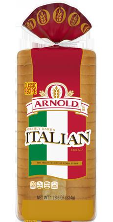 Arnold Italian Bread 22oz Packaging