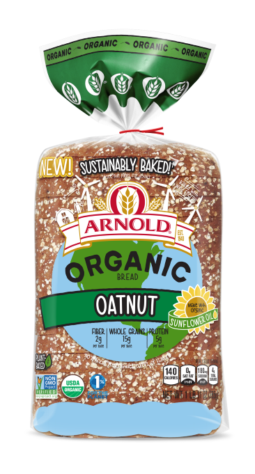 Arnold Organic Oatnut 27oz Packaging