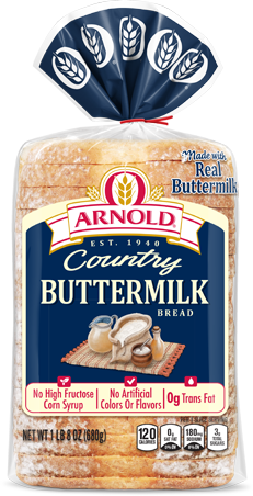 Arnold Buttermilk Bread Package Image