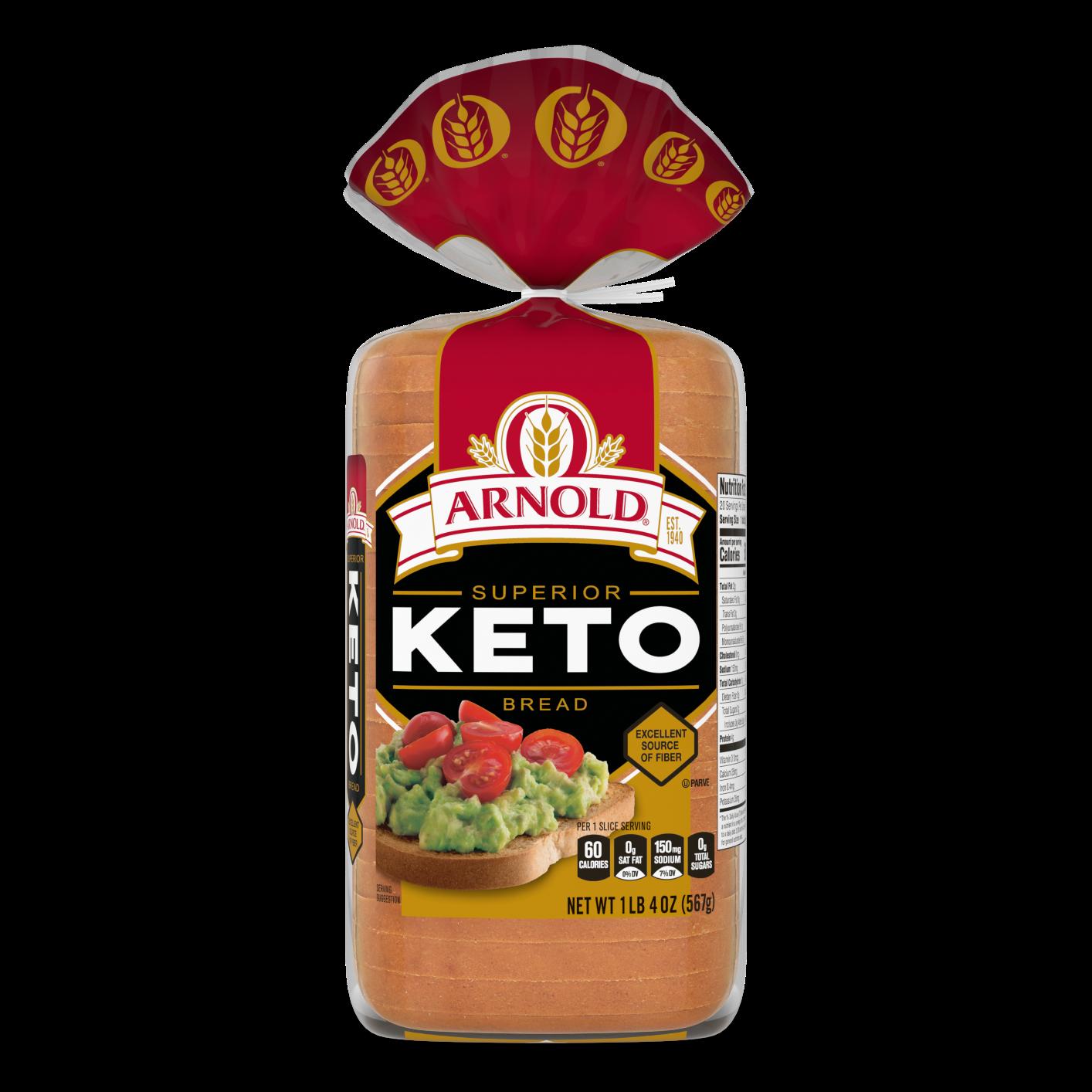 Arnold Keto Bread 20oz Packaging