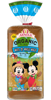 Arnold Organic Kids White with Whole Wheat Product Image