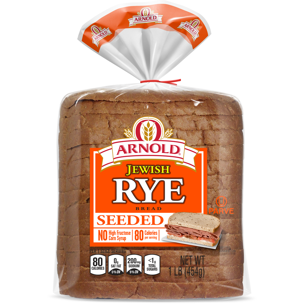 Arnold Seeded Jewish Rye Bread Package Image