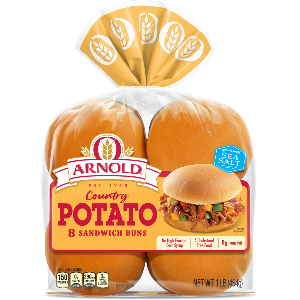 Arnold Potato Sandwich Buns Package Image