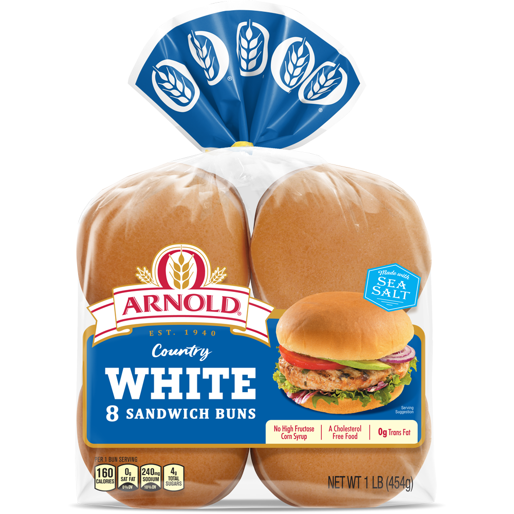 Arnold Country White Sandwich Buns Package