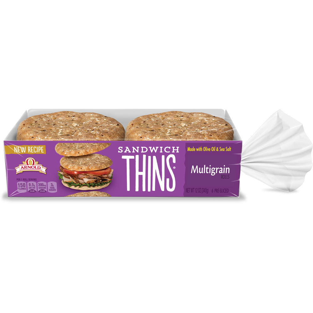 Arnold Sandwich Thins Multigrain Package Image
