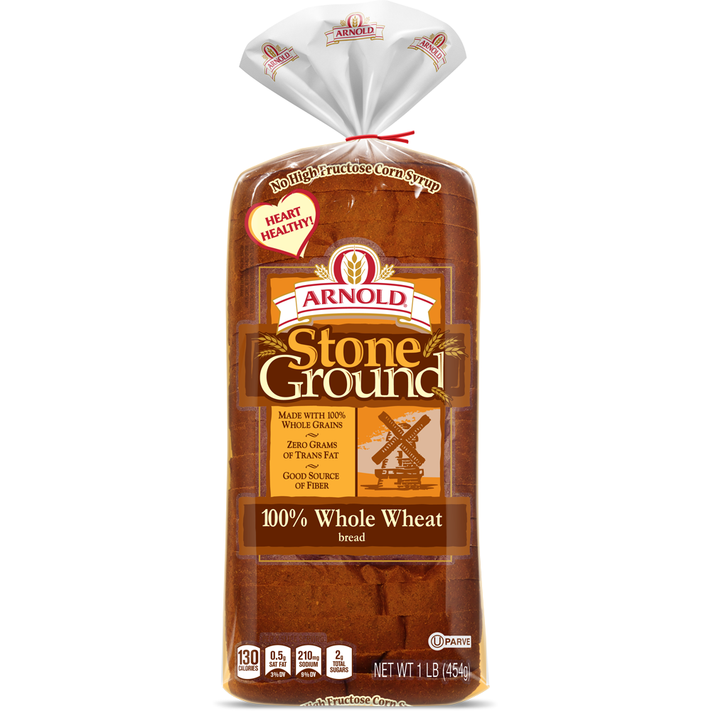 Arnold® Premium Breads | Stone Ground 100% Whole Wheat
