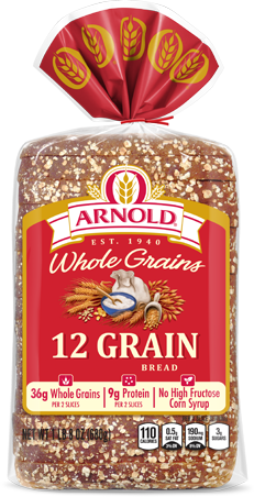 Arnold 12 Grain Bread Package Image