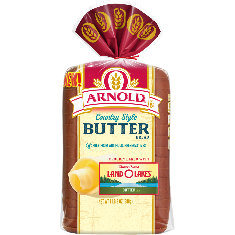 Arnold Country Style Butter Bread 24oz