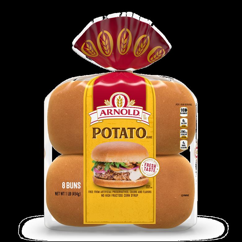Arnold Potato Sandwich Buns Package