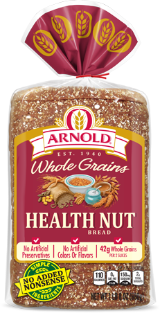 Arnold Health Nut Bread Package Image