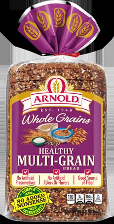 Arnold Healthy Multi-grain Bread Package Image