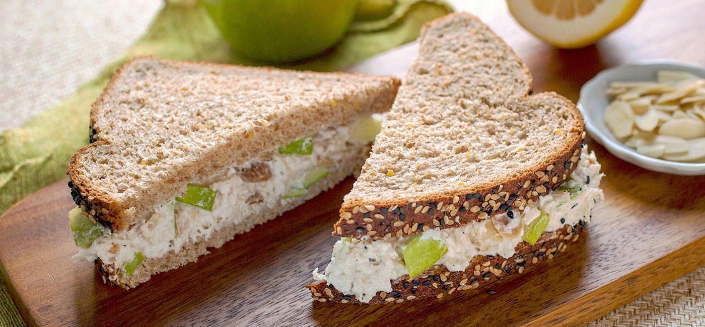 Arnold Premium Breads Lemon Apple Chicken Salad Sandwich