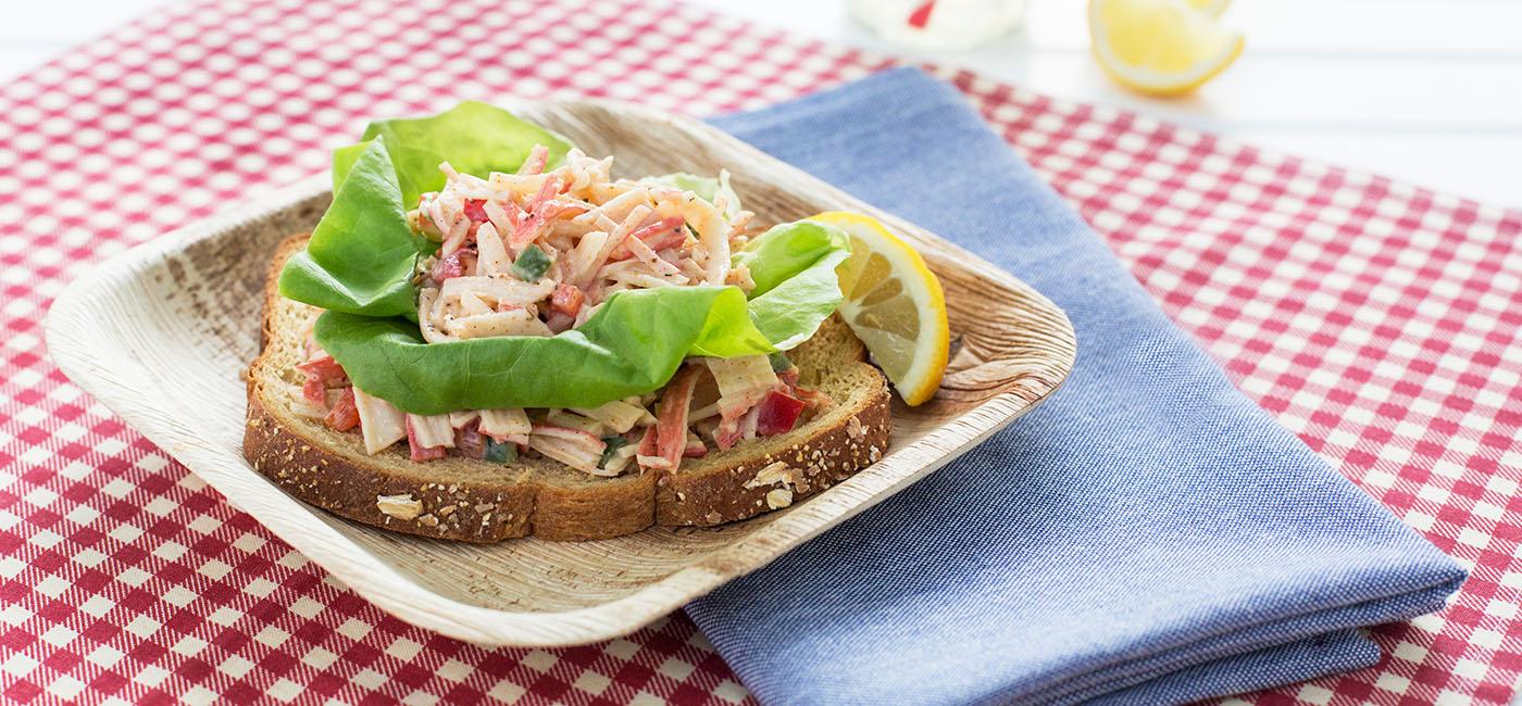 Kickin Crab Salad Recipe