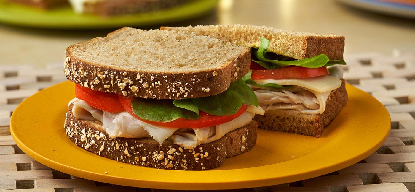 Simply Satisfying Turkey & Mozzarella Sandwich - Recipe Image