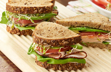 Ranch Turkey & Avocado Sandwich - Recipe Image