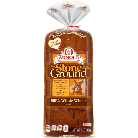 Stone Ground 100% Whole Wheat