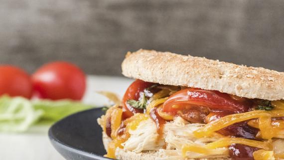 BBQ Chicken Sandwich Recipe Image