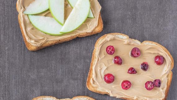 Homemade Cashew Butter Toast Recipe Image