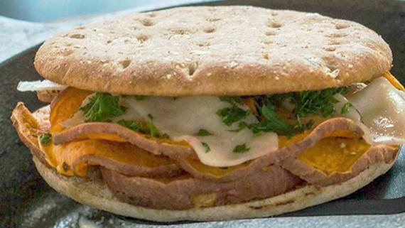 Grilled Yam N' Cheese Recipe Image