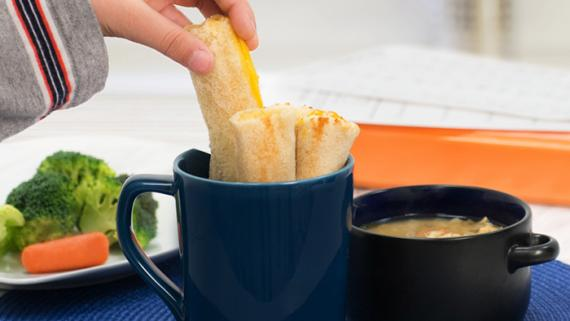 Grilled Cheese Roll-ups Recipe Image